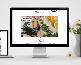 New Orleans based restaurant, Coquette, hired Skuba to redesign and develop their website in an effort to best showcase their award winning food. Skuba was also asked to move the site into a Content Management System for easy and quick updates to their ever-changing daily menu. Aside from the website redesign Skuba worked to build a voice for their brand by updating the logo and extending the brand by way of illustrations as well as incorporating new photography by Sarah Essex.