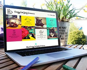 Crazy Cat Lady Ceramics create beautiful custom art and design pieces that speak to the strong love of their furry friends. Each of their feline companions has a story to be told and it all unfolds both on their website and social media sites. These stories and a series of Youtube videos featuring the cats creating mischeif have led to a strong following online and at large events like CatCon in Los Angeles.