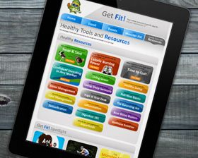 AOL needed an updated website that would be used by employees from all over the world to access the internal benefits AOL provides them. Through an easy to use system, employees can search the Get Fit calendar to find out what health & fitness events are taking place in their area. They can read articles, learn to budget their finances & find out about new career endeavors.