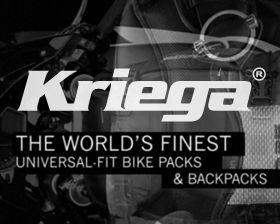 Kriega is a well-respected line of high-end motorcycle bags and accessories produced in the UK. Their target market are Ducati & BMW riders, both off-road & the racing-obsessed choose Kriega as their gear of choice. We were chosen to create the marketing initiative announcing the product to availability in the United States including creating the introductory package to launch Kriega into this new region.