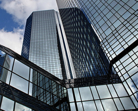 Background-deutsche-bank-headquarters-frankfurt-germany