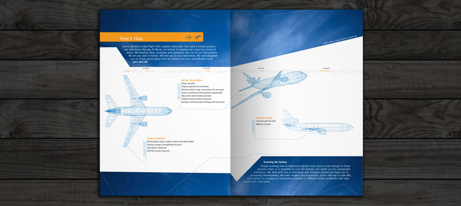 Mercer-global-print-brochure-inside-airplane-illustrations