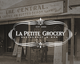 Award-winning Chef Justin Devillier and his wife Mia engaged Skuba Design Studio to redesign and develop the La Petite Grocery Restaurant and Bar website. Justin was going to be on a national television series airing this fall and it was imperative that the site not only represent the amazing food that they are known for but also combine it with La Petite Grocery's unique history of it's location.