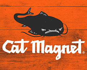Cat Magnet is a superior brand of fishing tackle and apparel designed for anglers who demand performance, functionality, and versatility from their gear. By designing and manufacturing their own line of rods, line, tackle, and branded apparel, Cat Magnet's goal is to elevate the sport of catfishing by providing customers with products made using the highest quality materials available. By creating a robust educational area of the site, Cat Magnet has positioned themselves as an elite brand within their market.
