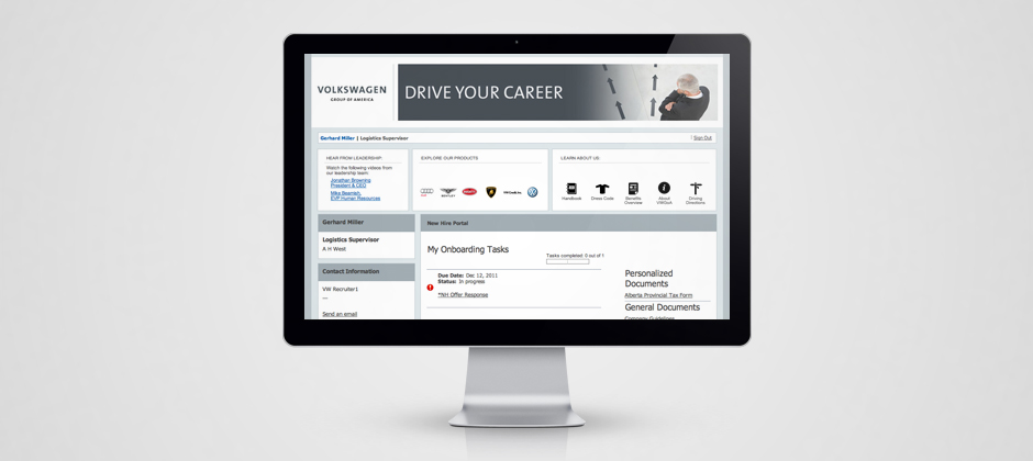 Volkswagen-group-of-america-website-design-display-drive-your-career