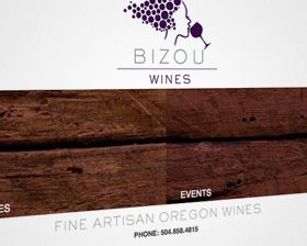 Bizou-wines-website-design-and-branding