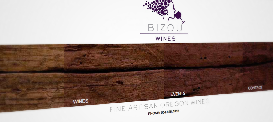 Bizou-wines-website-screenshot