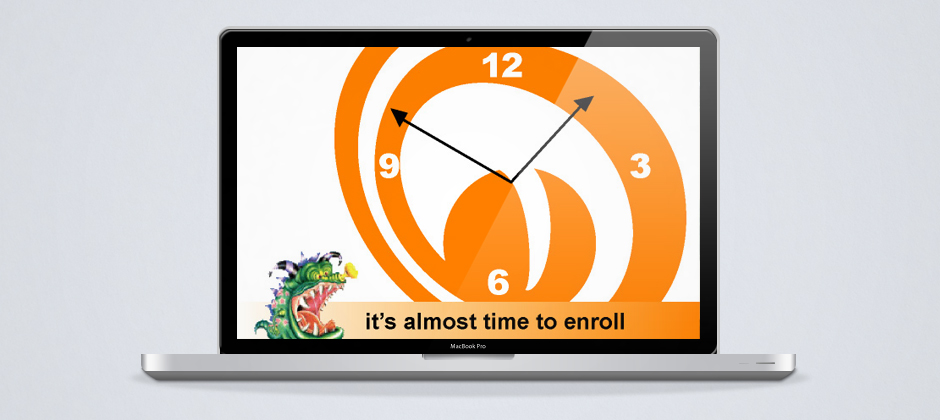 Monster-dot-com-motion-graphic-almost-time-to-enroll-macbook