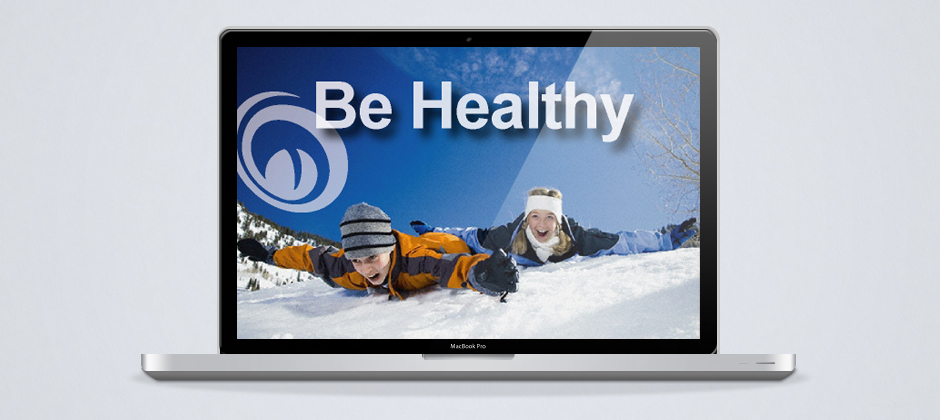Monster-dot-com-motion-graphic-be-healthy-kids-sliding-down-snowy-hill